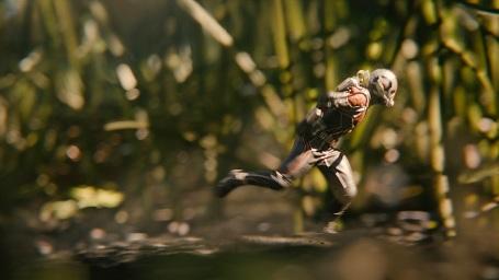 Auf Knopfdruck schrumpf Scott Lang auf Ameisengröße und wird damit zu Ant-Man!