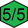 5 von 5