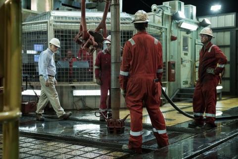 Vor der Katastrophe: Alltag auf der Deepwater Horizon.